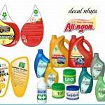 Chọn In decal nhựa làm nhãn dán sản phẩm